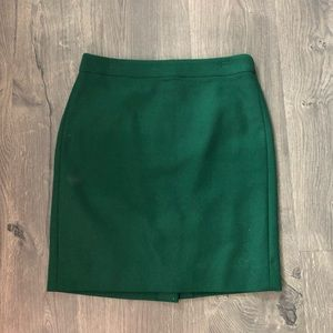 JCrew Factory perfect pencil skirt wool 2 petite